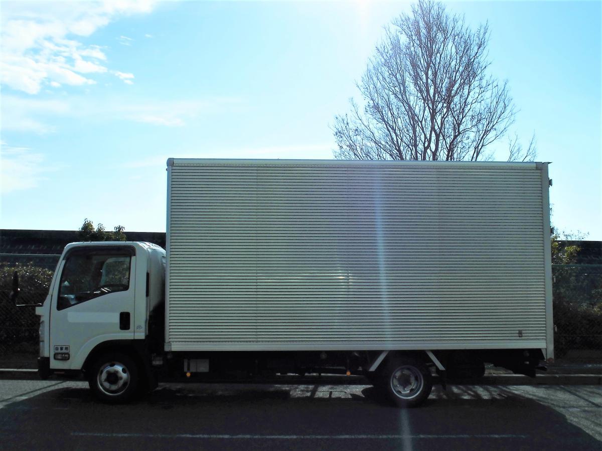 中古トラック H24年式 ワイド超ロング アルミバン
