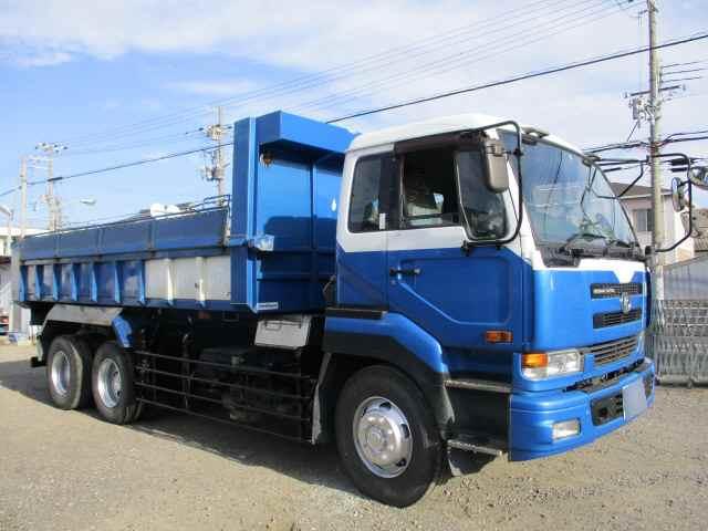 中古トラック H16年 UD CW55 10tロングダンプ Nox適合