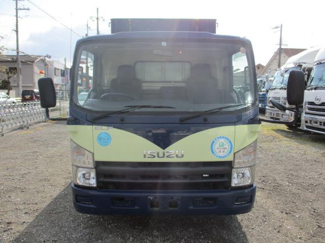中古トラック H22年 いすゞ 3tアルミ平 ターボ フルフラットロー