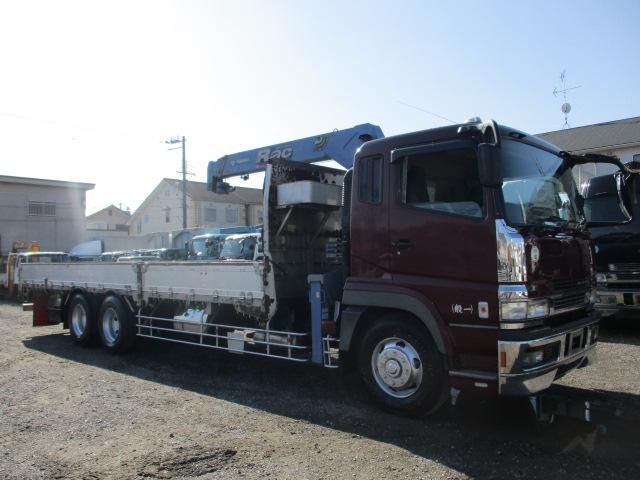中古トラック H18年 三菱クレーン付 4段 ラジコン 検査付