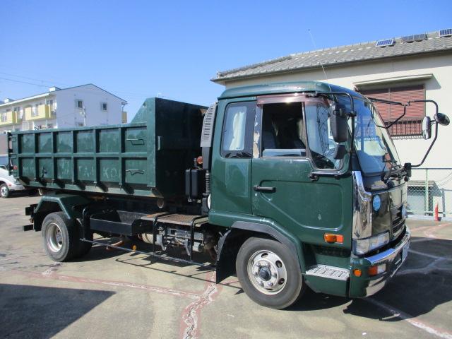 中古トラック H18年 ニッサン 4tアームロール ターボ 検査付