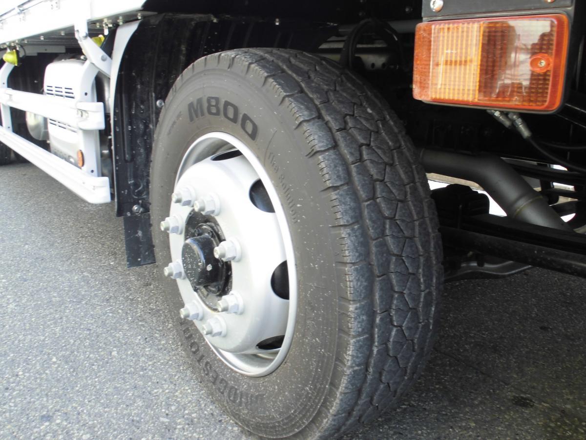 中古トラック H30年式 検査付 未使用車 ハイルーフ 4軸低床 ウイング