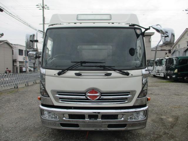 中古トラック H25年 日野 4tアルミ平 ワイド ターボ
