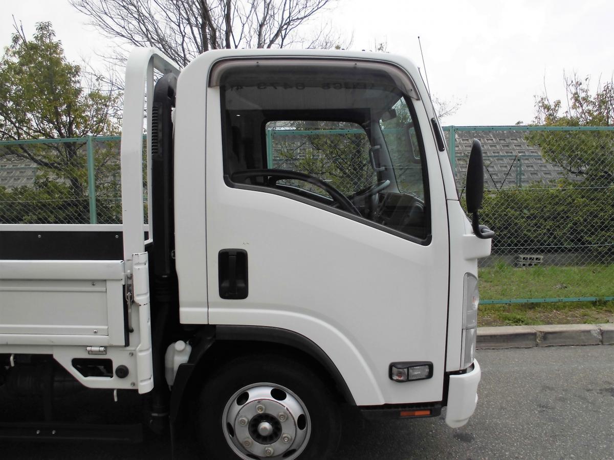 中古トラック H25年式 ワイド超ロング 積載3t 検査付 平ボディ