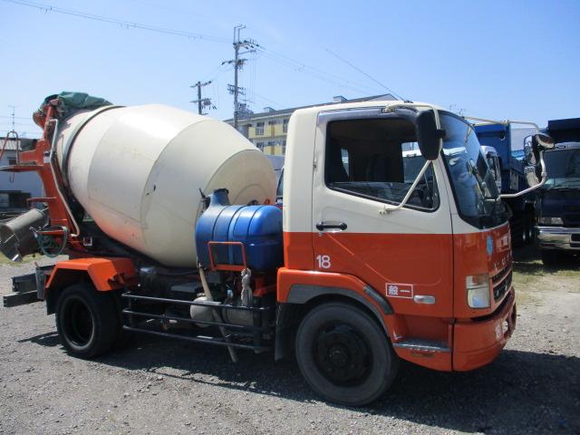 中古トラック H19年 三菱 増tミキサー Nox適合 ターボ