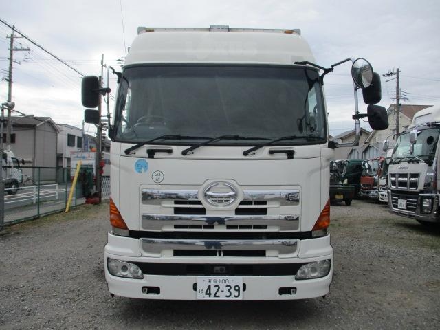 中古トラック H18年 日野 25t4軸ウイング ハイルーフ 検査付