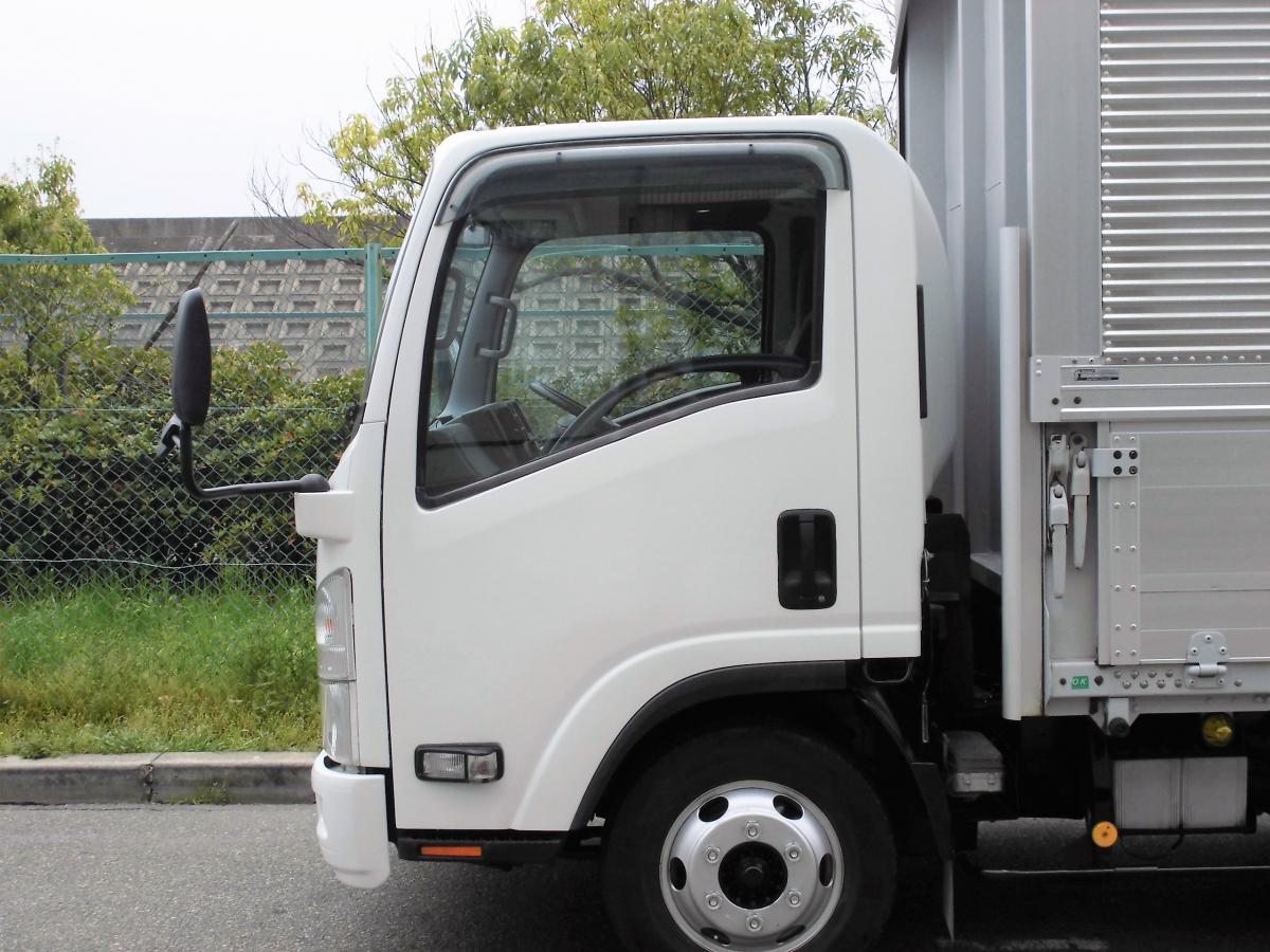 中古トラック H21年式 超ロング 格納ゲート 検査付 ウイング