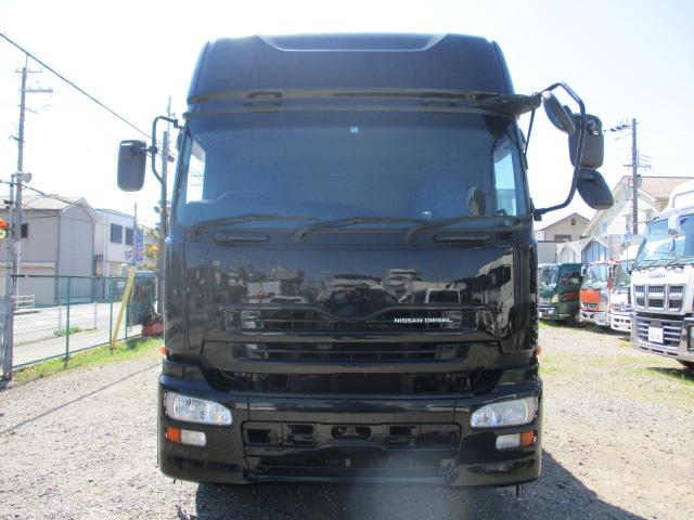 中古トラック H21年 UD 10tアルミ平 エアサス ターボ エスコット