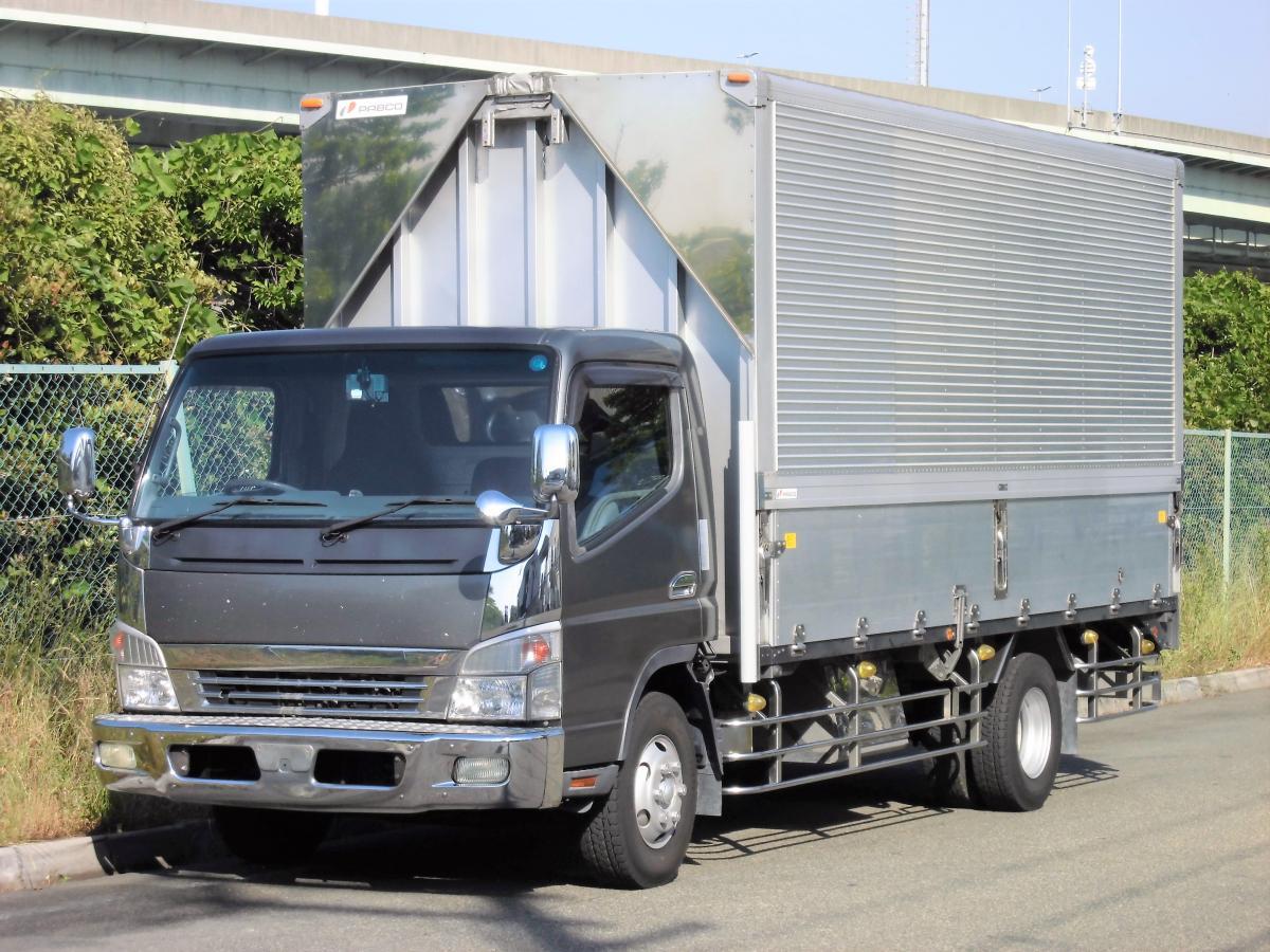 中古トラック H20年式 6M/T 積載3.3t 超ロング ウイング