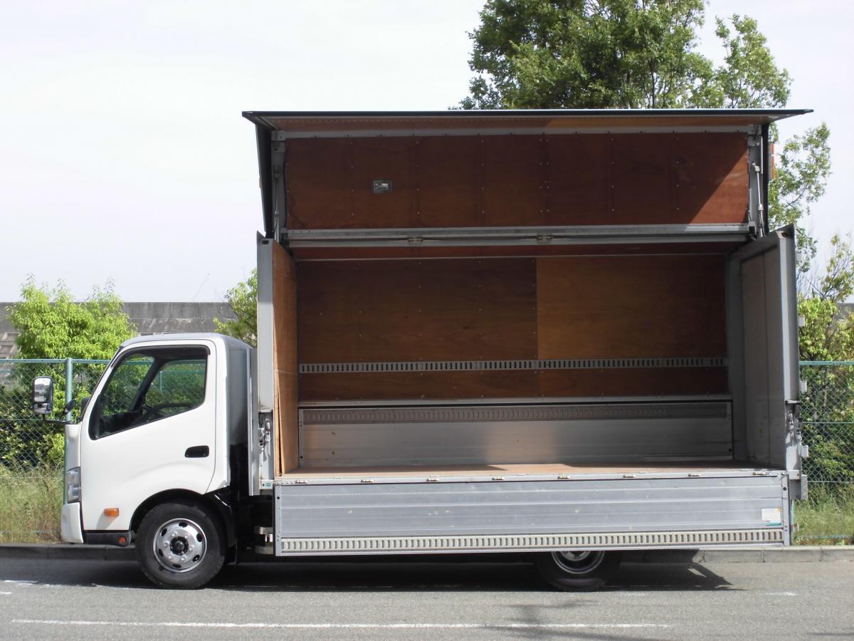 中古トラック H24年式 ワイドロング 積載4t 検査付 ウイング
