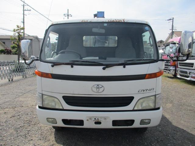 中古トラック H12年 トヨタ クレーン付平 タダノ3段 ラジコン