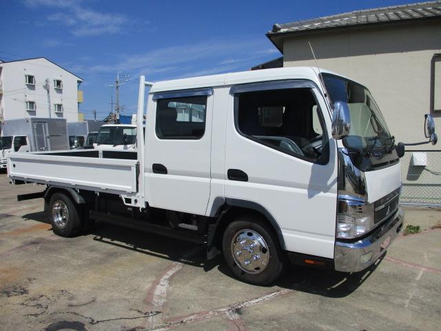 中古トラック H22年 三菱 Wキャブ メッキパーツ ターボ