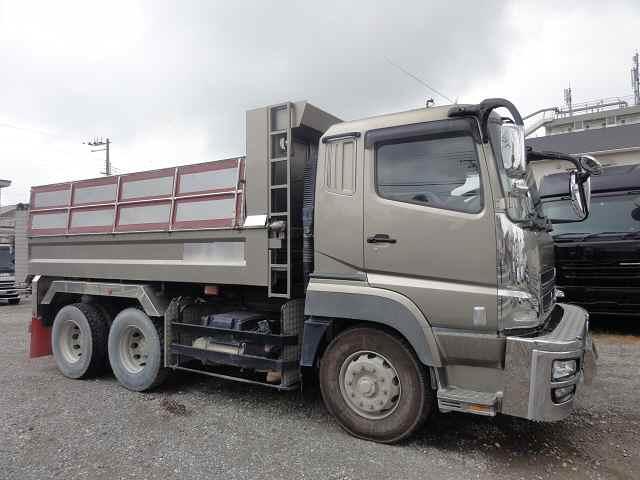 中古トラック H26年 三菱 10tダンプ ETC メッキ ナビ ターボ