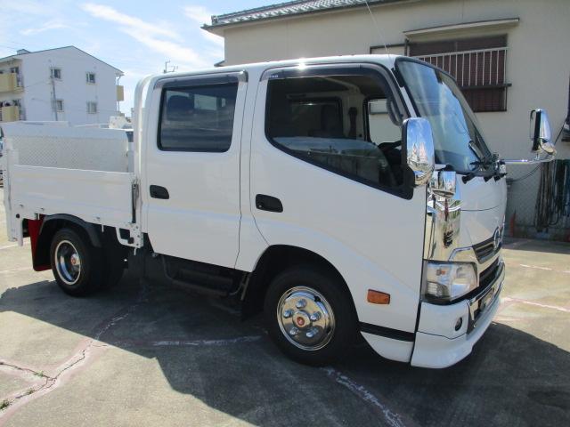 中古トラック H29年 日野 Wキャブ ターボ 高床 4ナンバー P/G
