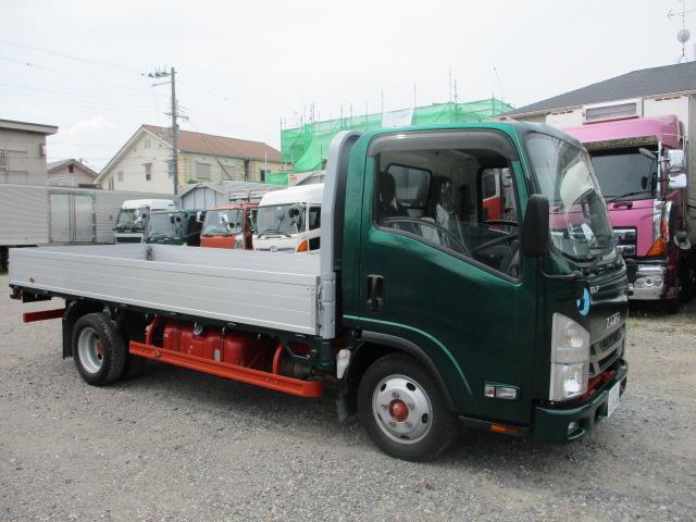 中古トラック H27年 いすゞ 2tアルミ平 ロング ターボ