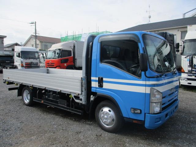 中古トラック H20年 いすゞ 2tアルミ平 フルフラ ターボ ロング