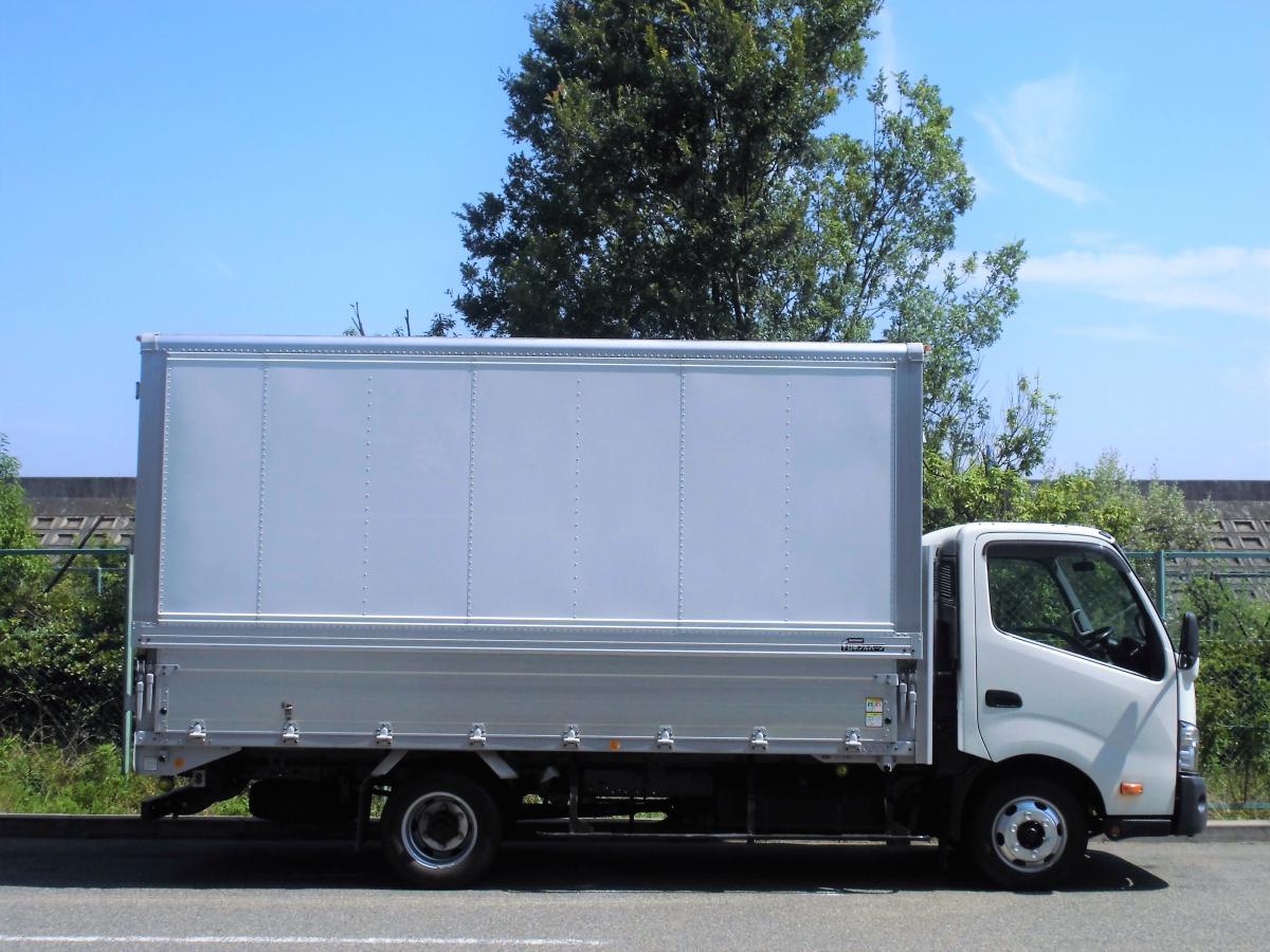 中古トラック H27年式 車検付 積載3t ロング アルミウイング