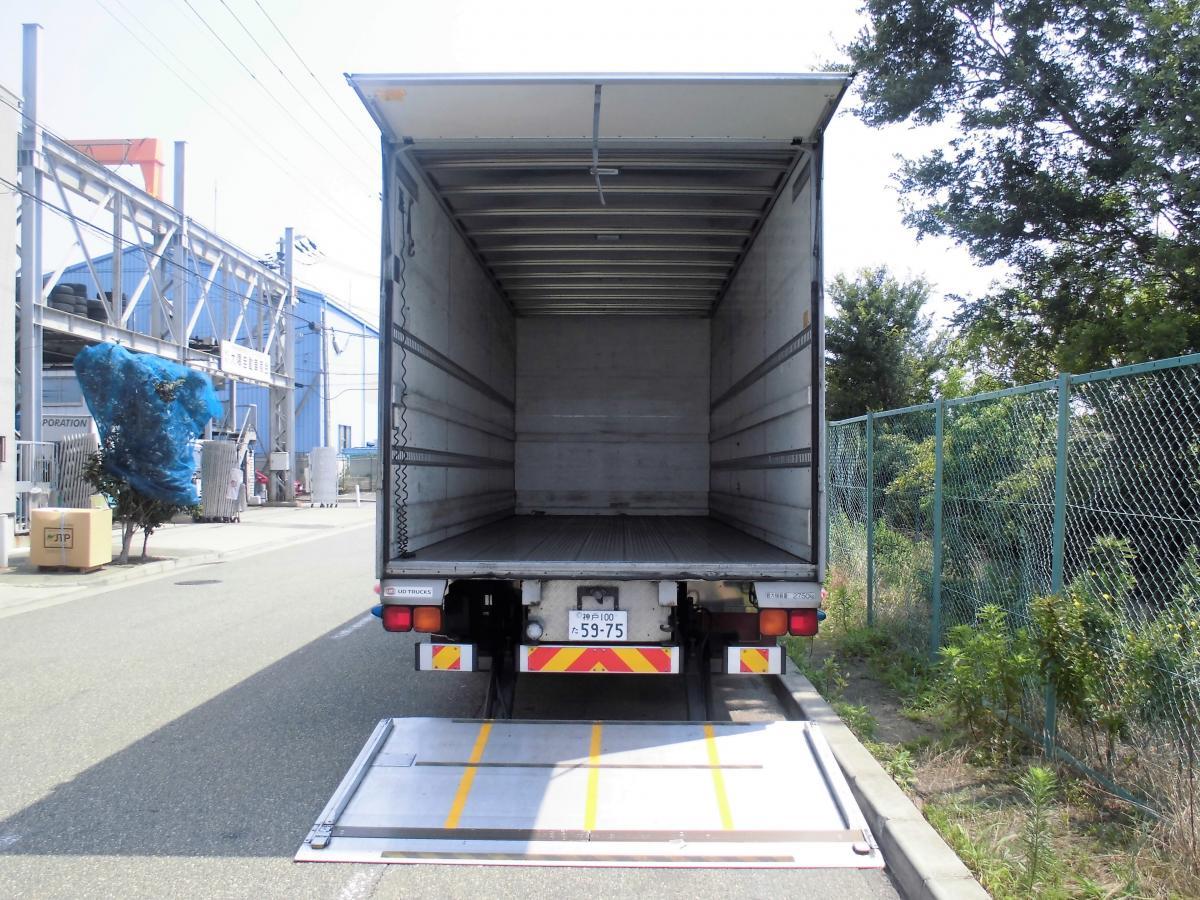 中古トラック H23年式 ワイド 検査付 P/G付バン