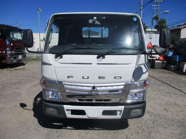 中古トラック H25年 三菱 3t平 垂直P/G付  ターボ