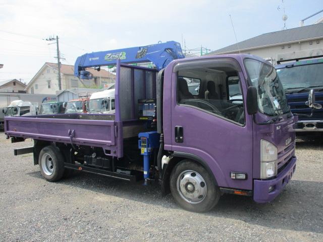 中古トラック H26年 いすゞ クレーン付 タダノ4段 ラジコン