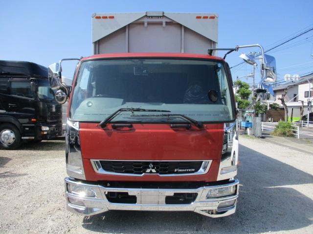 中古トラック H29年 三菱 4tウイング メッキパーツ ワイド