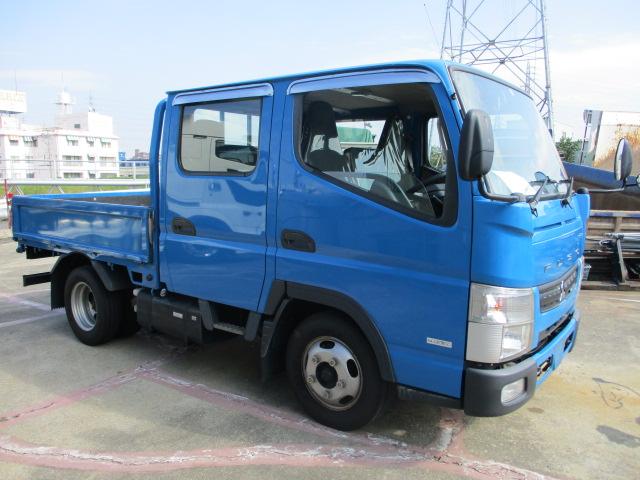 中古トラック H26年 三菱 Wキャブ 高床 地デジナビ ターボ