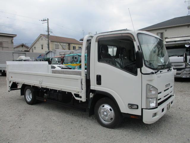 中古トラック H24年 いすゞ 2t平 ワイドロング フルフラ 垂直P/G