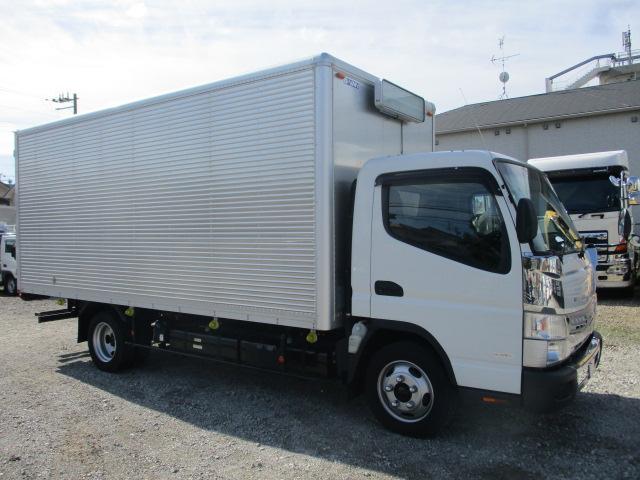 中古トラック H28年 三菱 アルミバン 積載2.75t ワイドロング