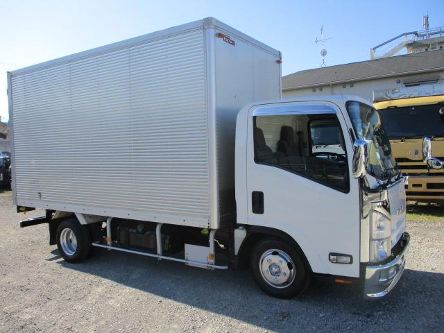 中古トラック H24年 いすゞ 2tアルミバン 標準ロング ターボ