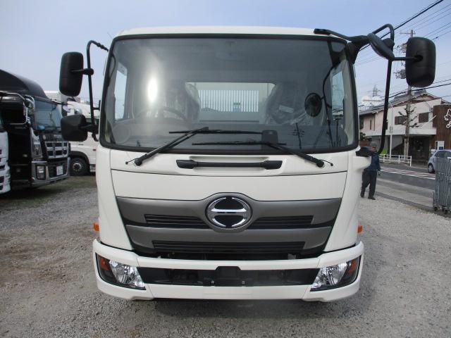 中古トラック H31年 日野 4tセーフティーローダーダンプ 新古車