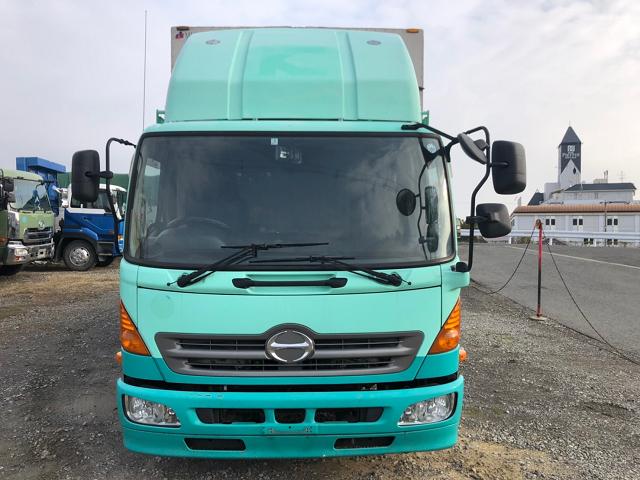 中古トラック H25年 日野 4t幌ウイング 後輪エアサス ワイド