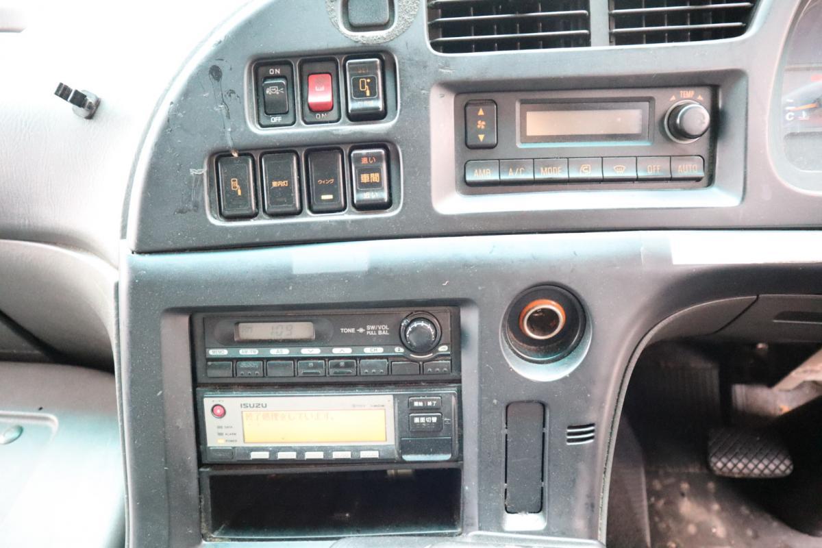 中古トラック H20年式 E/G載せ替え歴有 4軸低床 SA/T ウイング