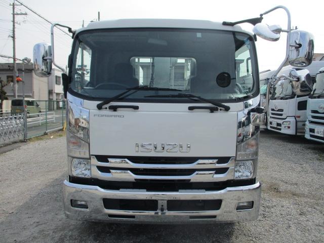 中古トラック H29年 いすゞ 4tクレーン付平 タダノ4段 メッキ