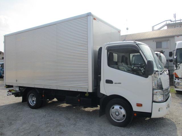 中古トラック H25年 日野 2tバン ワイドロング フルフラ 格納P/G