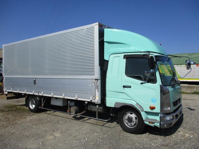 中古トラック H24年 三菱 4tアルミウイング ターボ ワイド