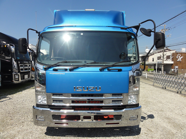 中古トラック H26年 いすゞ 4tアルミウイング メッキ ナビ ワイド