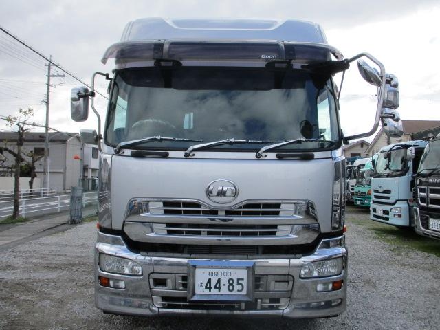 中古トラック H24年 UD トラクタヘッド アルミホイール エスコット