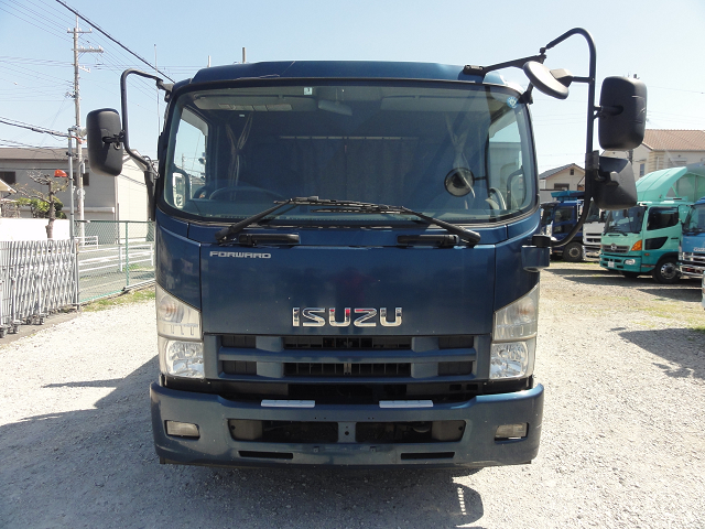 中古トラック H24年 いすゞ 増tクレーン付 小平 3段 ラジコン付