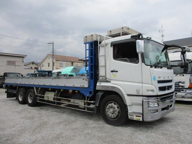 中古トラック H28年 三菱 25t3軸アルミ平 ターボ エアサス
