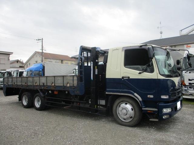 中古トラック H20年 三菱 増tセルフ ウインチ ハイジャッキ