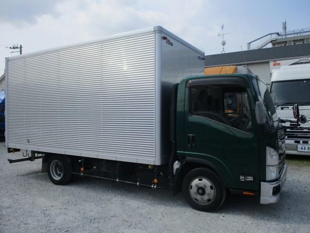 中古トラック H25年 いすゞ 2tバン サイドドア ワイドロング