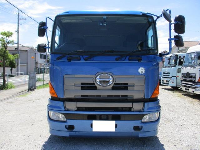 中古トラック H25年 日野 4軸アルミ平 エアサス 車検付