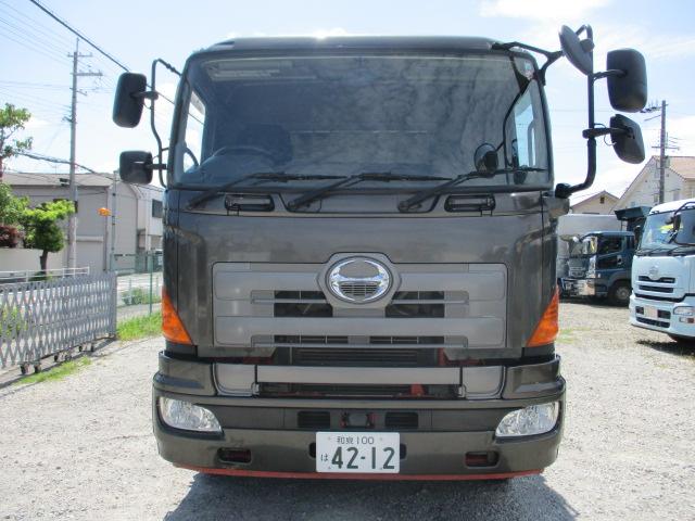 中古トラック H23年 日野 10tダンプ ETC ターボ 検査付