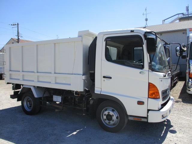 中古トラック H18年 日野 4t深ダンプ 土砂禁 ターボ