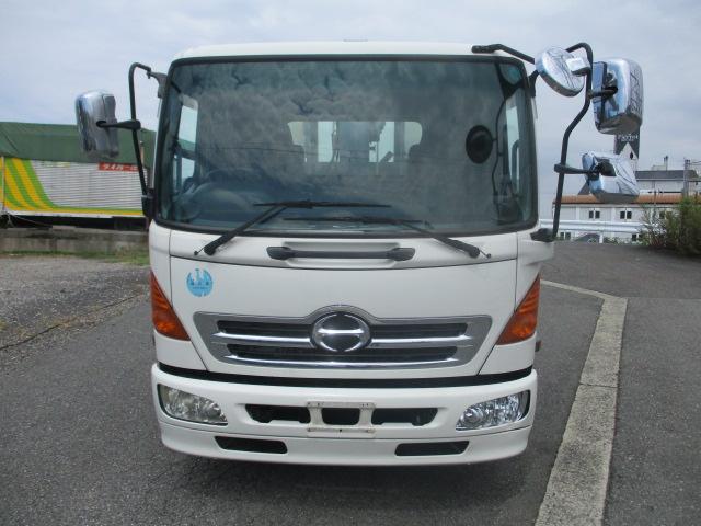 中古トラック H19年 日野 4tクレーン付平 タダノ3段 フックイン