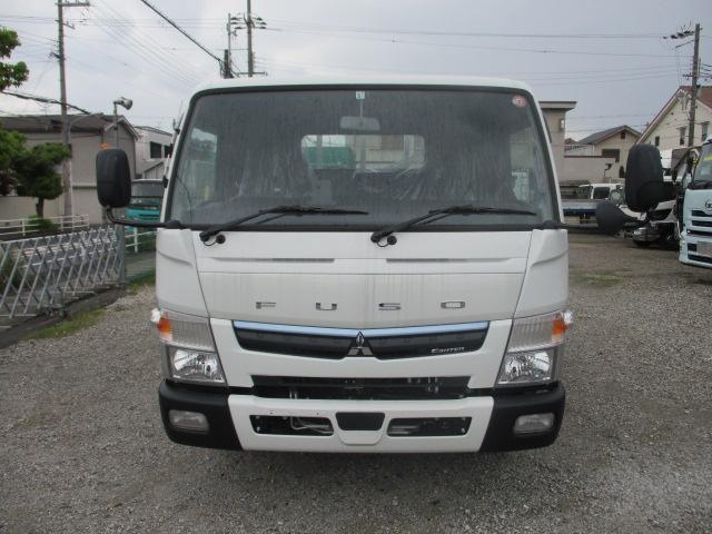 中古トラック R2年 三菱 3.5tアルミ平 フルフラ 未使用 車検付
