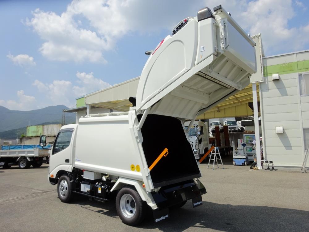 中古塵芥車(パッカー車) 日野 デュトロ /プレス式 4.6m3 新明和 G-PX ...