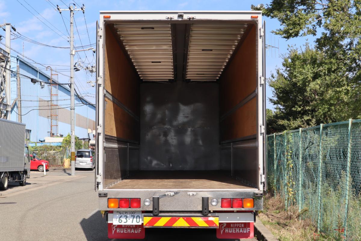 中古トラック H28年式 4軸低床 7M/T ハイルーフ 検査付 ウイング