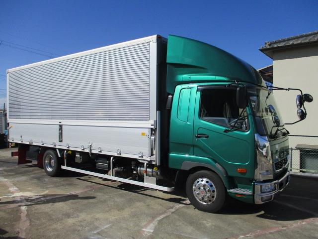 中古トラック 【動画】H28年 三菱 4tウイング 走行27万キロ