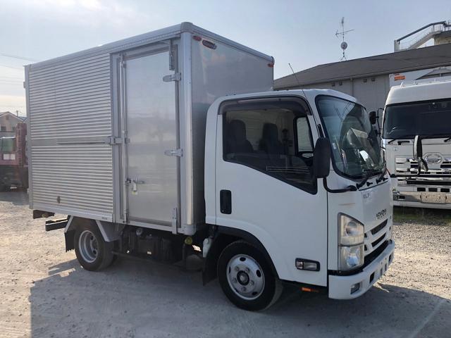 中古トラック 【動画】H28年 いすゞ 2t10尺アルミバン 全低床